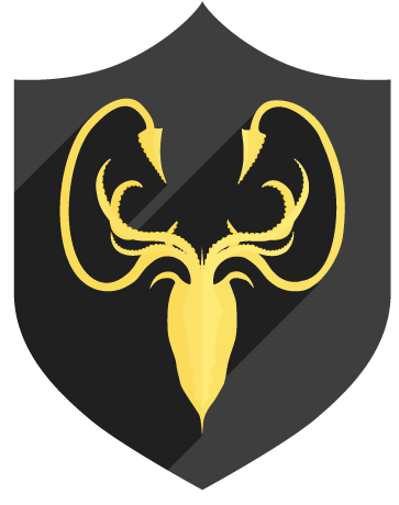 Bannière greyjoy game of thrones