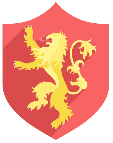 Bannière lannister game of thrones